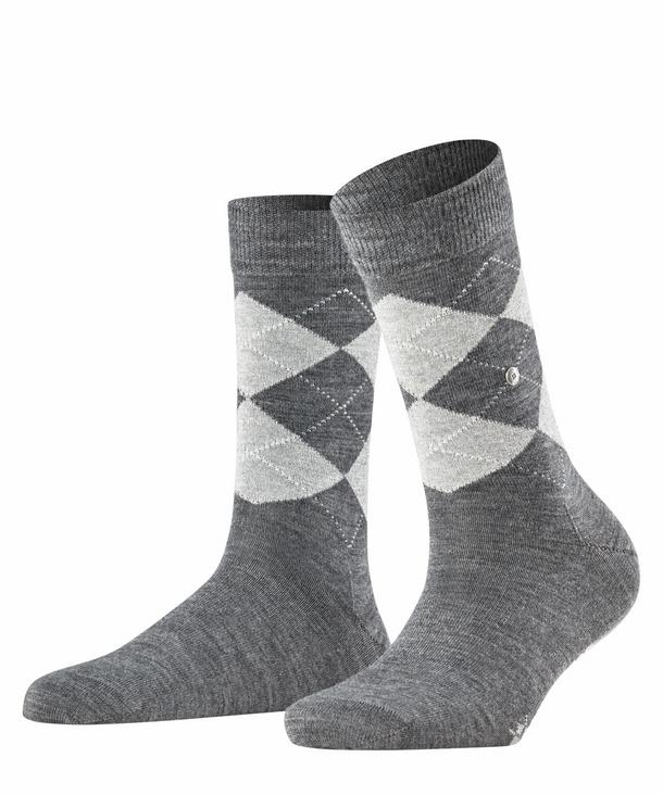 BURLINGTON Damen Socken Bubbly Einheitsgr/ö/ße 1 Paar Baumwollmischung Versch Farben - Stumpf mit Streifen und Rippb/ündchen 36-41
